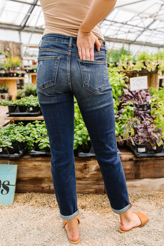 Slim Chance Non-distressed Judy Blue Jeans - Women's Clothing AfterPay Sezzle KanCan Judy Blue Simply Sass Boutique
