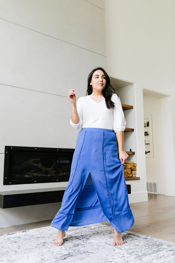 Split Decision Maxi Skirt - Women's Clothing AfterPay Sezzle KanCan Judy Blue Simply Sass Boutique