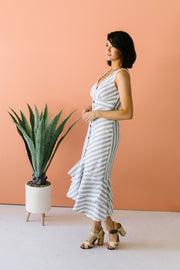 Summer Perfected Striped Dress - Women's Clothing AfterPay Sezzle KanCan Judy Blue Simply Sass Boutique