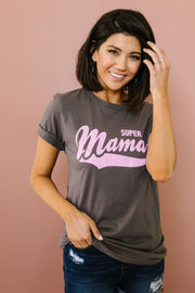 Super Mama Graphic Tee - Women's Clothing AfterPay Sezzle KanCan Judy Blue Simply Sass Boutique