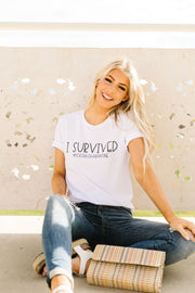Survivor Graphic Tee - Simply Sass Boutique