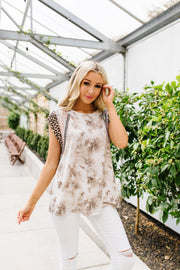 Tame The Beast Tie Dye Top - Simply Sass Boutique