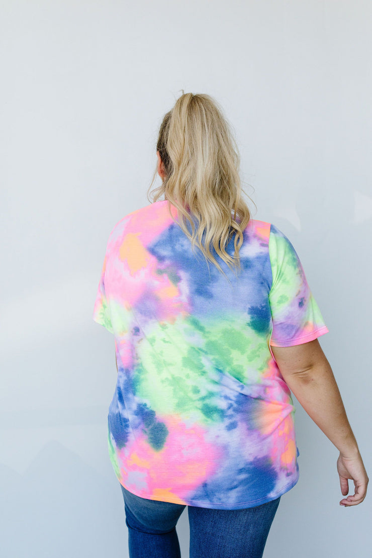 Tie Dyed And True Top - Simply Sass Boutique