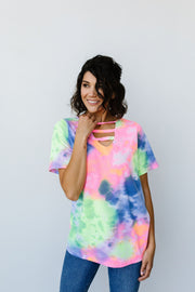 Tie Dyed And True Top - Women's Clothing AfterPay Sezzle KanCan Judy Blue Simply Sass Boutique