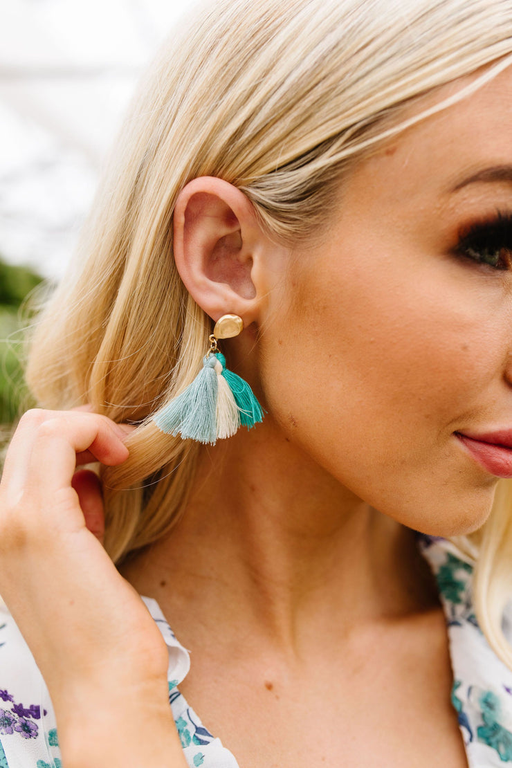 Trio Of Tassels Earrings - Women's Clothing AfterPay Sezzle KanCan Judy Blue Simply Sass Boutique