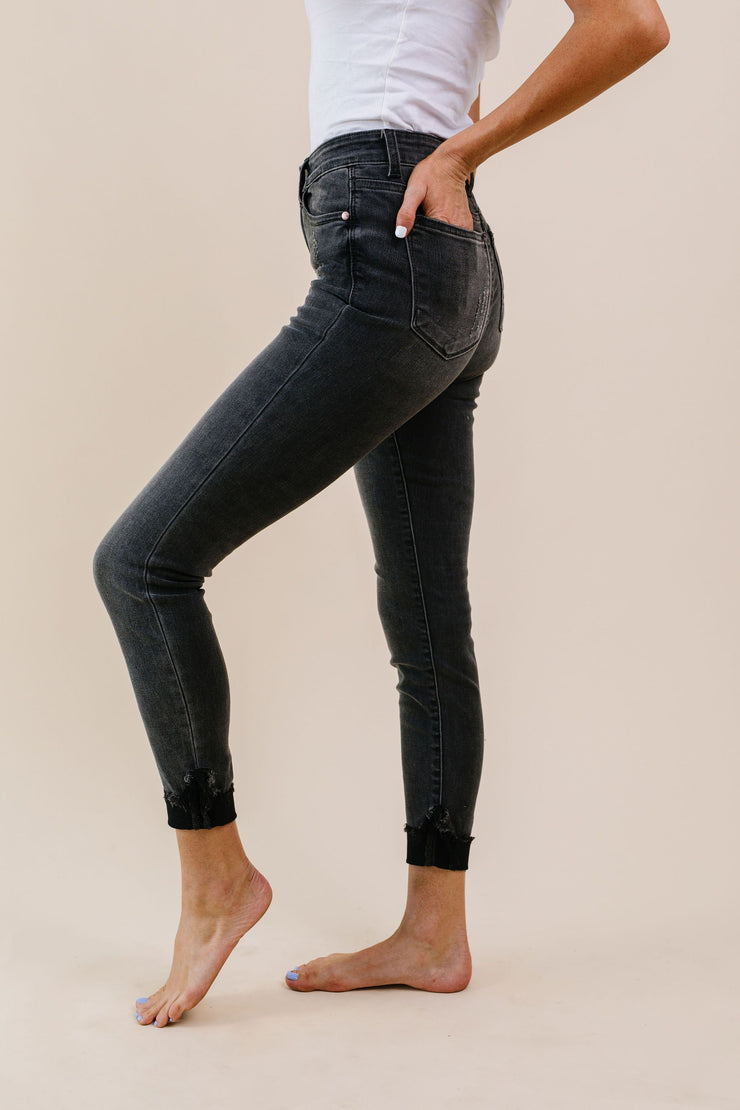 Turn Up The Heat Black Judy Blue Jeans - Women's Clothing AfterPay Sezzle KanCan Judy Blue Simply Sass Boutique