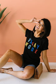 Vacay Mode Graphic Tee - Women's Clothing AfterPay Sezzle KanCan Judy Blue Simply Sass Boutique