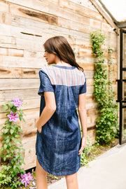 Wannabe Denim Dress - Simply Sass Boutique