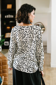 Water Spots Blouse - Women's Clothing AfterPay Sezzle KanCan Judy Blue Simply Sass Boutique