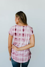 Wham Bamboo Top In Wine - Simply Sass Boutique