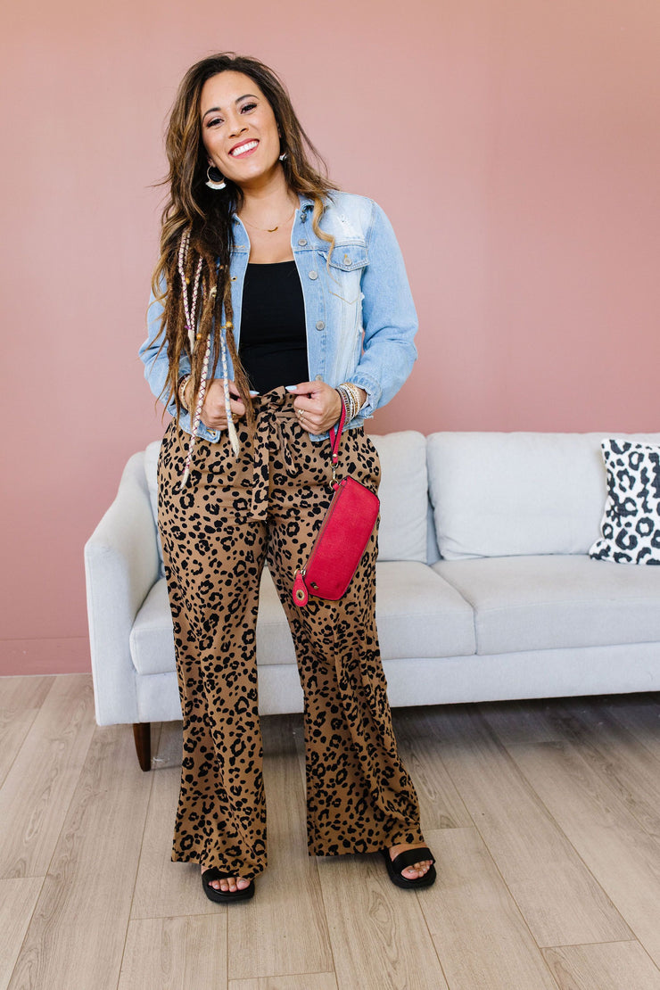 Wild 'N' Free Wide Leg Trousers - Simply Sass Boutique