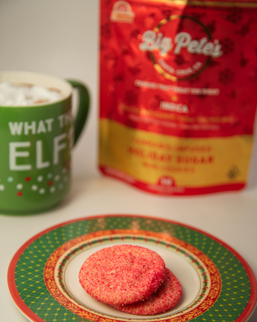 Santa's Favorite Treat: HOLIDAY SUGAR Mini Cookies