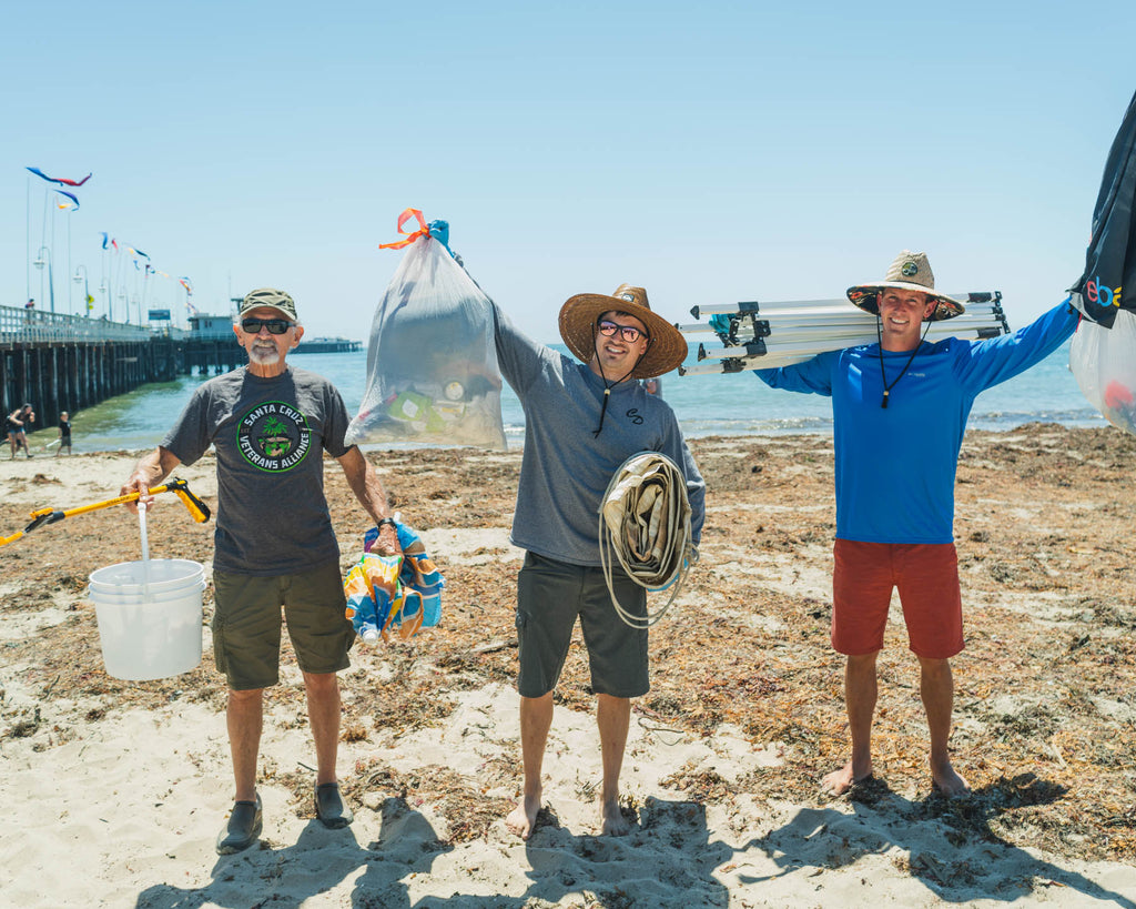Big Pete's Beach Cleanups - We love Cannabis and the Ocean!