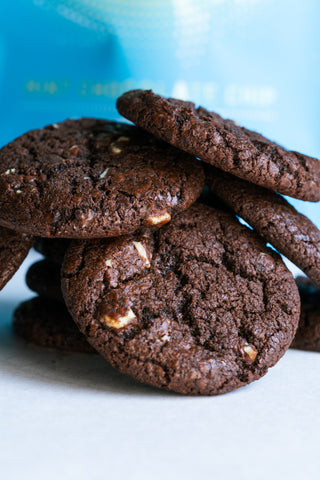 Mint Chocolate Chip Cannabis Infused cookies