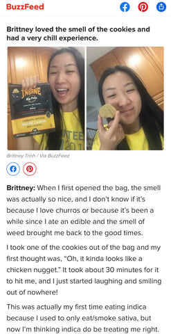 Buzzfeed Churros Cookies Article