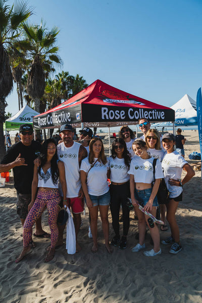 Big Pete's Treats and Rose Collective Venice Beach Cleanup