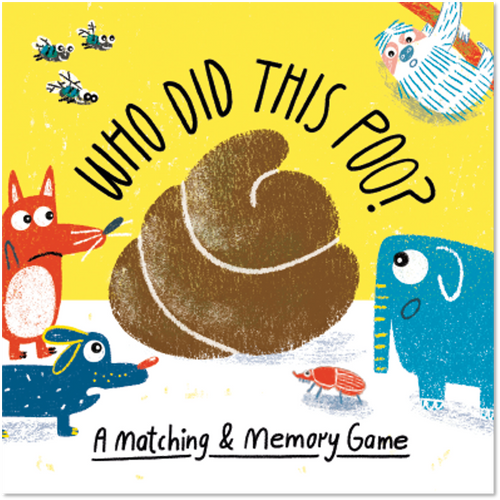 Who Did This Poo? - Matching Game