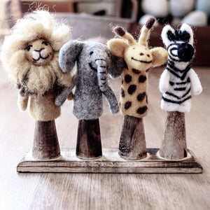 African Animal Finger Puppet