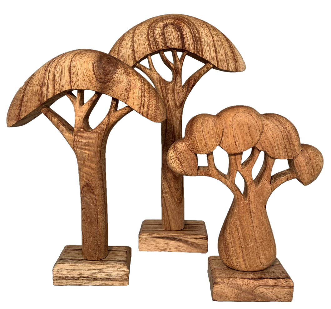 Natural Wooden African Trees