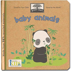 Baby Animals - Green Start Book