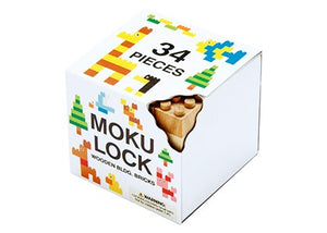 Wooden Blocks Komodo 34pcs Set
