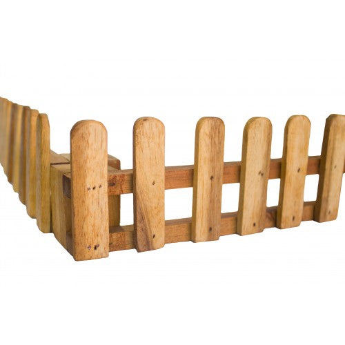 Wooden Fences - Set of 4