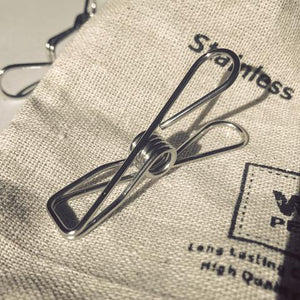 Hemp Bag of Pegs - Grade 316ss (marine) 1.7mm