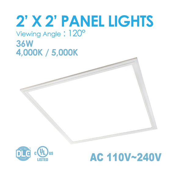 LED PANEL LIGHT 2 x 2FT 36Watt 4000K/5000K