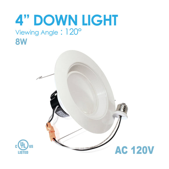 Down Light 4Inch 3000K/4000K/5000K