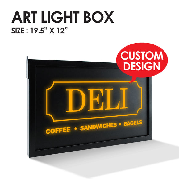 Custom Art Light Box