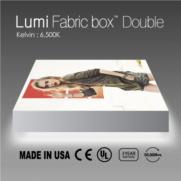 Lumi Fabric Light Box Double Side 6500K (T150mm)
