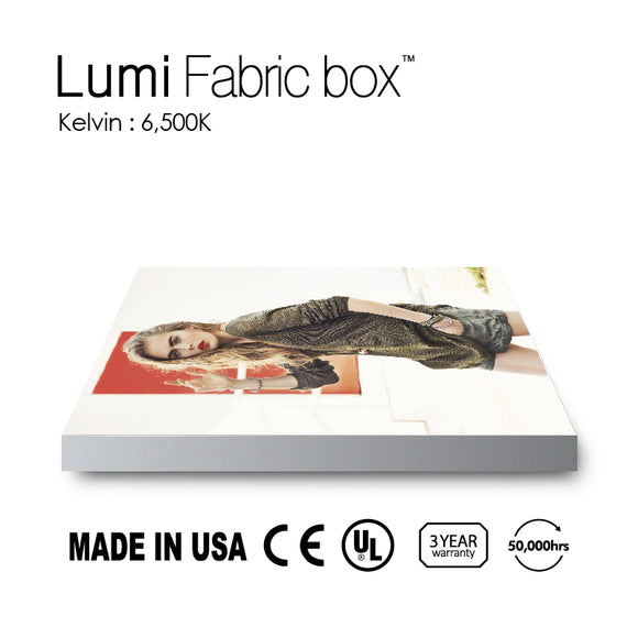 Lumi Fabric Light Box 6500K (T80mm)