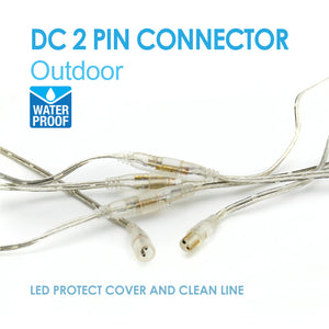 Outdoor DC 2 Pin Connector  X 5set