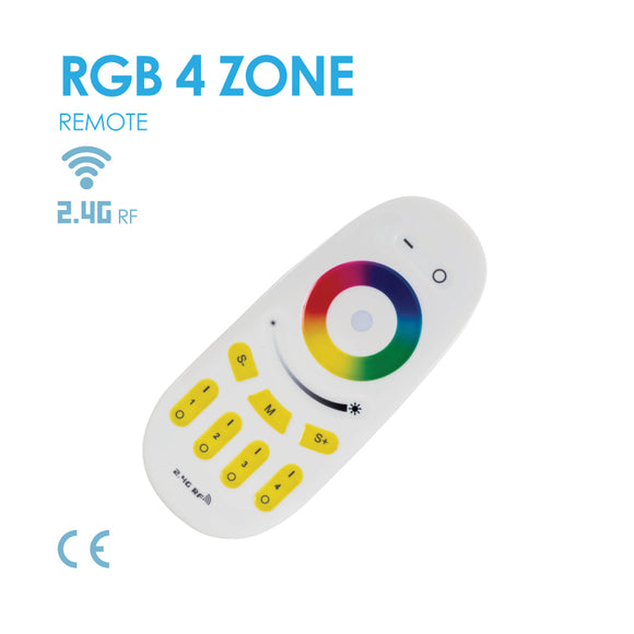Mi Light 4-zone RGBW Touch Remote