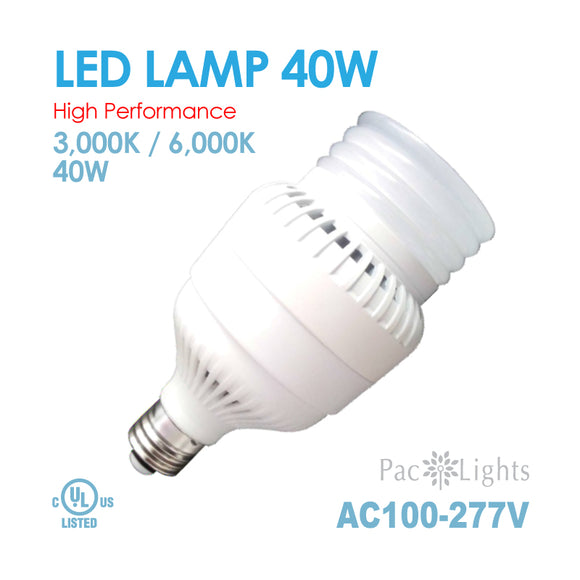 PAC Light LED Lamp 200Watt E26 AC100~277V