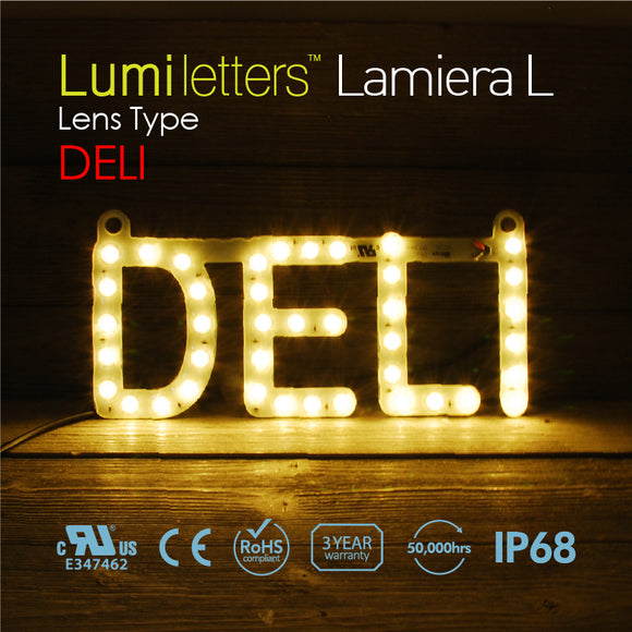 LED Sign Art Lens Type