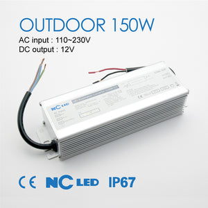 NC LED 150W-12V Outdoor Power Supply