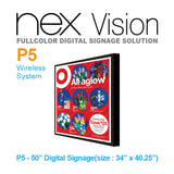 NEX Vision Fullcolor Digital Signage Solution P5