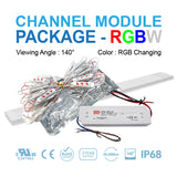 LED Channel Module Package [RGB Color]