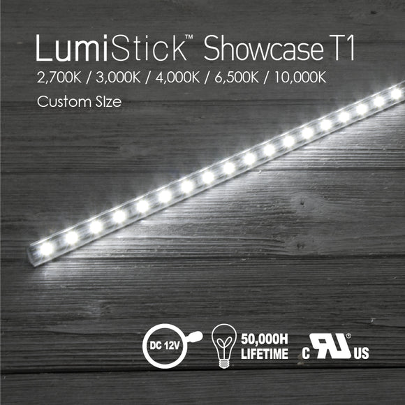 Lumi Stick Showcase T1-2,700K / 3,000K / 4,000K / 6,500K / 10,000K [Custom SIze]
