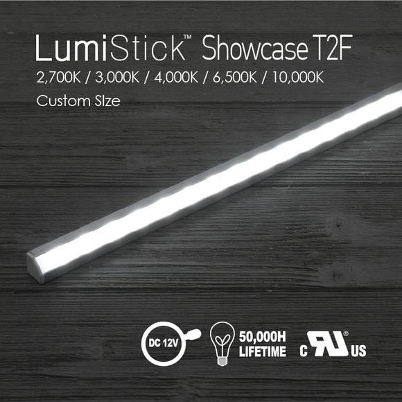 Lumi Stick Showcase T2-2,700K / 3,000K / 4,000K / 6,500K / 10,000K [Custom SIze]