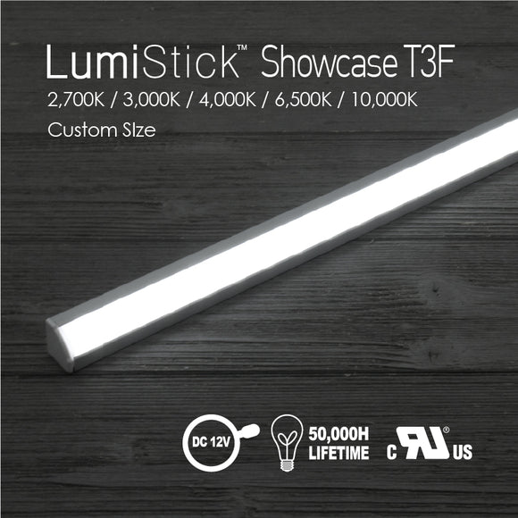 Lumi Stick Showcase T3-2,700K / 3,000K / 4,000K / 6,500K / 10,000K [Custom SIze]