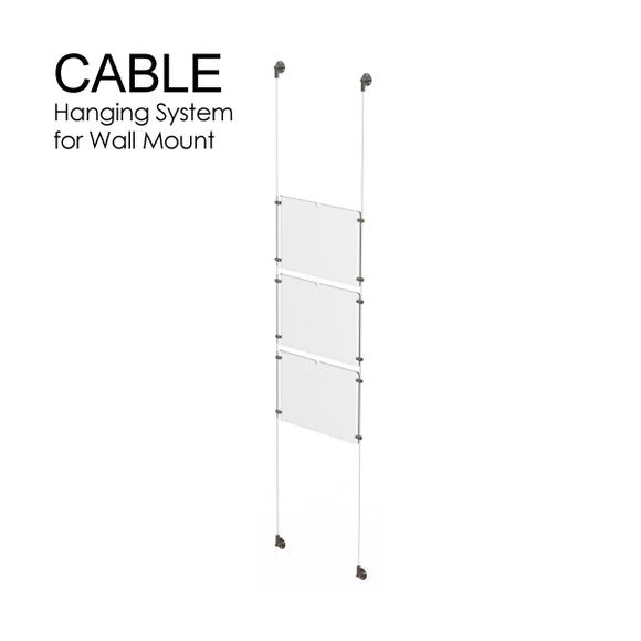 Cable Hanging System for Wall Mount