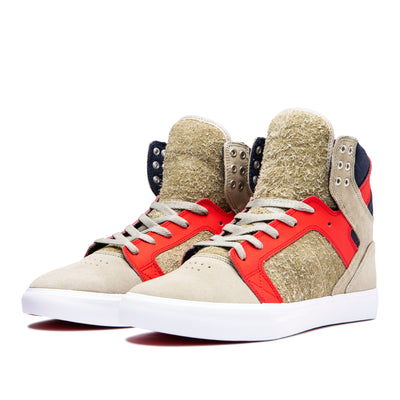 08003-372-M | SKYTOP | STONE/RISK RED-WHITE