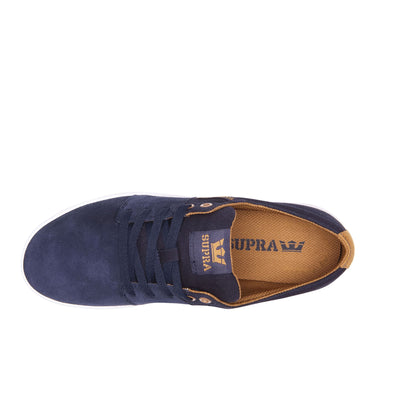 08183-455-M | STACKS II | NAVY/TAN-WHITE