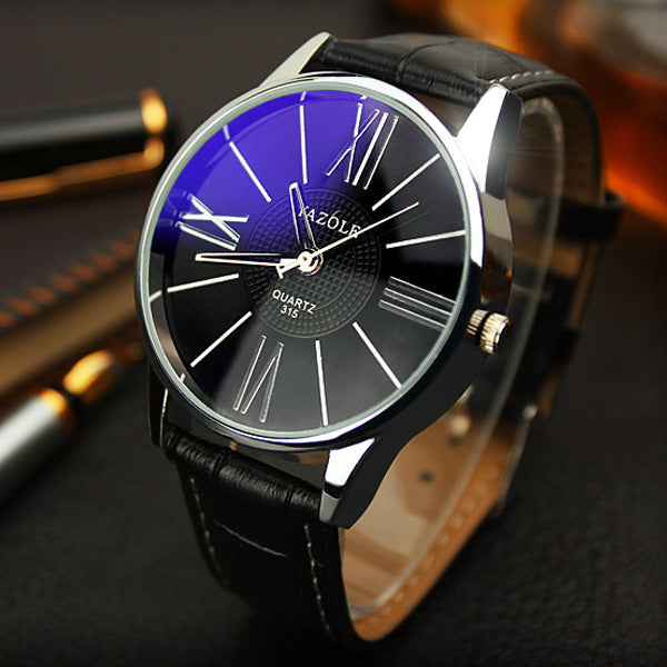 Men's Fashion Business Quartz Minimalist Belt watch