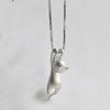 Tiny Cute Cat Pendant Necklace for Women
