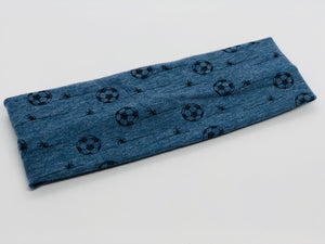 Soccer Headband-Turban Twist and Yoga Styles | Sweet Stitch Novelties - Sweet Stitch Novelties
