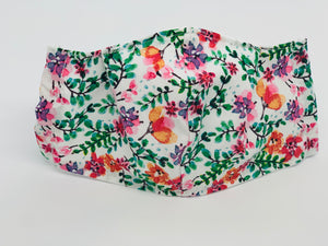 Wildflower Fitted Face Mask