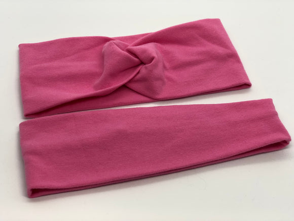 Bubblegum Pink Headband-Turban Twist and Yoga Styles | Sweet Stitch Novelties - Sweet Stitch Novelties
